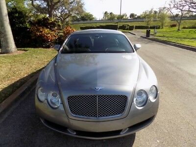 2006 Bentley Continental GT  Clean CARFAX NAVIGATION HEATED AND COOLED SEATS PARKING SENSORS LEATHER SEATS