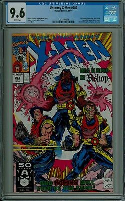 The Uncanny X-Men #282 CGC 9.6 NM+ white pages Marvel 1st BISHOP 1281846009