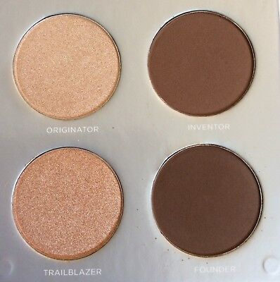 Pur Sculptor Highlight And Contour 4 Color Palette New