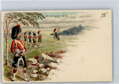 51195422 - Private Black Watch Militaer Irland Lithographie