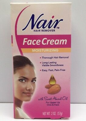 Nair Hair Remover Face Cream With Sweet Almond Oil