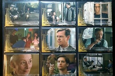 2004 Spiderman 2 Movie 70 Trading Cards - Complete - Upper Deck - Hologram