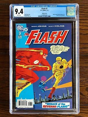 Flash #7 CGC 9.4 NM (2011) Flash 139 Cover Homage - Variant Cover!
