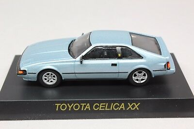 7969 Kyosho 1/64 TOYOTA Celica XX Light Blue Mint in Box With Tracking Number