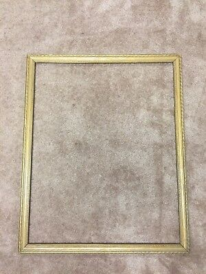 Vintage Picture Frame Gold Fits A 24 14inch X 30 18 Painting