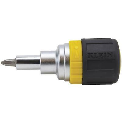 Klein Tools 6-In-1 Ratch Screwdriver 32593 Unit: EACH