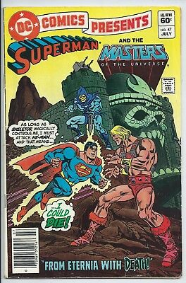 **dc Comics Presents #47**(Jul 1982, Dc)**1St Appearance Of He-Man**hot Book**