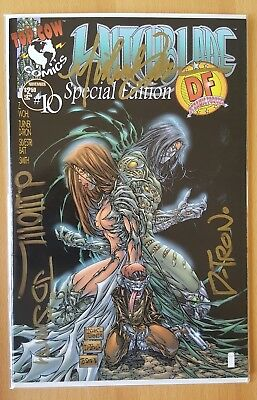 Witchblade (1995) #10 Dynamic Forces Variant Signed Turner, Wohl, Smith, D-Tron