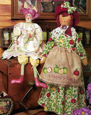 Crafts - Dolls - Sewing Dotti and Happy Hannah - Pattern 0042