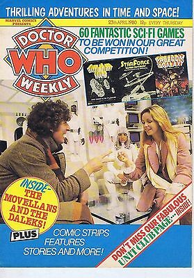DR WHO MAGAZINE 23 May 1980