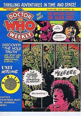 DR WHO MAGAZINE 21 May 1980