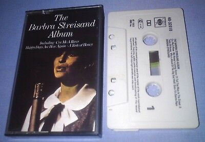BARBRA STREISAND THE ALBUM cassette tape album T4930