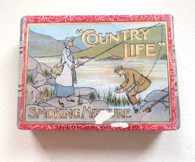 John Player & Son Country Life Smoking Dummy Packet 1905 Tobacco Cigarettes