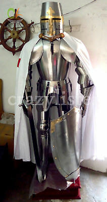 Medieval Armour Suit Costume Wearable Knight Crusader Collectible halloween gift