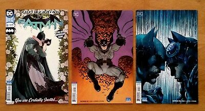 Batman 50 Covers A,B,C  Jim Lee Variant Cover 1st Print DC 2018 NM+