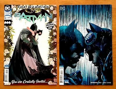 Batman 50 Covers A +  Jim Lee Variant Cover 1st Print DC 2018 NM+
