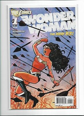 Wonder Woman #1 (Dc Comics New 52) 1st print