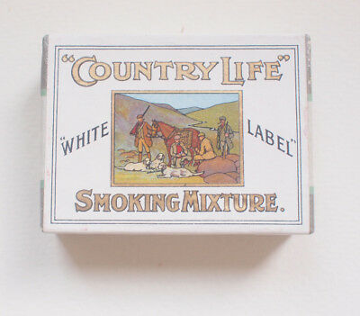 John Player & Son Country Life Dummy Packet 1905 Tobacco Cigarettes Tin Vintage