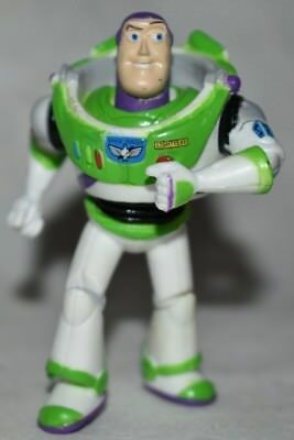 Disney Store Authentic BUZZ LIGHTYEAR FIGURINE Cake TOPPER TOY STORY Pixar NEW