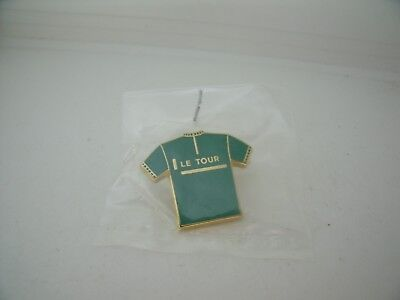 Pin's Pins Pin Badge TOUR DE FRANCE CYCLING Maillot Vert ARTHUS BERTRAND TOP
