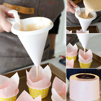 Adjustable Chocolate Funnel for Baking Cake Decorating Home Tools Kitchen