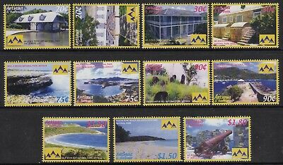 Antigua 2006 National Parks set fine fresh MNH