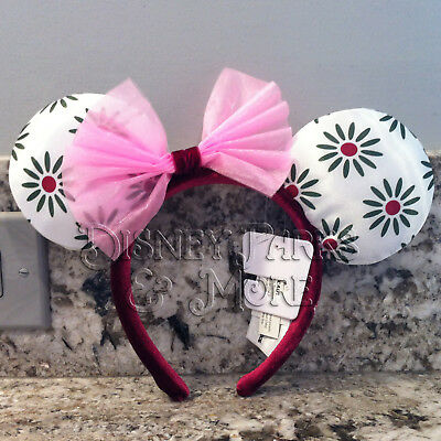 Disney Parks Haunted Mansion Stretching Portrait Tightrope Minnie Ears Headband