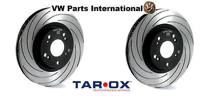 VW Golf MK5 R32 Tarox 345mm F2000 Performance Front Brake Discs Upgrade