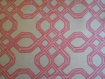 Lee Jofa LILLY PULITZER 'WELL CONNECTED' Fabric 7.5 Yds Retail $1110 More Avail.