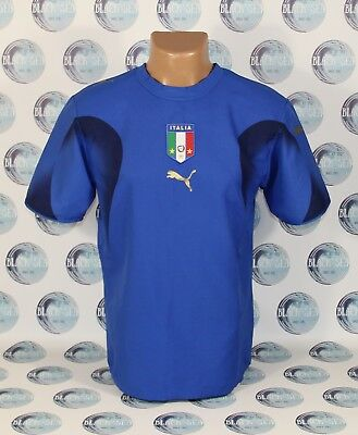 04558d6747c Italy National Team 2006 2008 Football Soccer Shirt Jersey Maglia Maillot  Puma