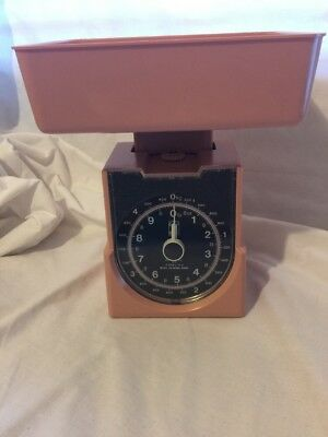 Vintage Retro Funky Pink Chef Kitchen Scales