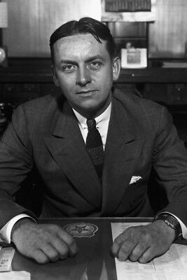 "New 5x7 Photo: Chicago Prohibition Agent Eliot Ness of ""The Untouchables"""