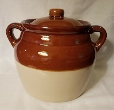 Official Two Handle Boston Bean Pot with Lid, The Pot Shop