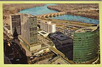 Postcard ~ New Constitution Plaza Hartford Connecticut ~ Vintage 1014
