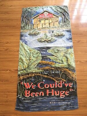 Budweiser Vintage Beach Towel - From 1998