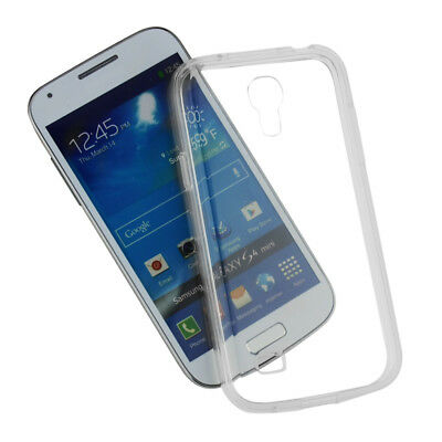 SDTEK Gel Case for Samsung Galaxy S4 Mini Soft Silicone Transparent Clear