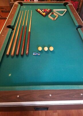 DYNAMO BLACK LIGHT CoinOperated Pool Table PicClick - Dynamo coin operated pool table