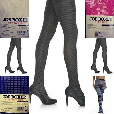 Women's Joe Boxer Fashion Tights.  Assorted, S/M or M/L $8.99 for each pair. FS