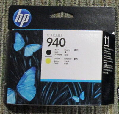 BRAND NEW HP 940 C4900A PRINTHEAD OfficeJet PRO 8000 8500 FACTORY SEALED 11/2019