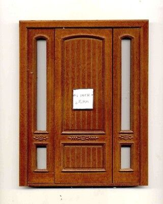 Door by Bespaq 842NWN Provincial Interior wooden dollhouse miniature 1:12 scale