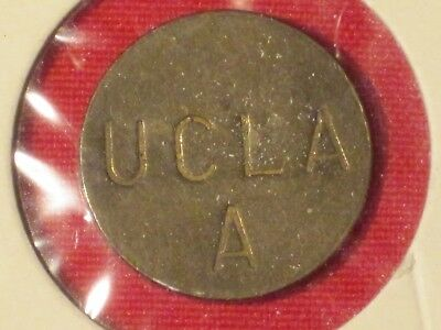 "*** UCLA Parking Token ""A"" - Very Nice!  Brass."