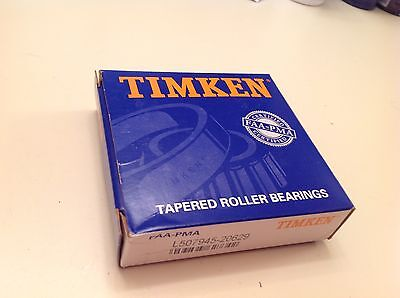 Timken Bearing Tapered Roller P/nl507945-20629 New Sealed.