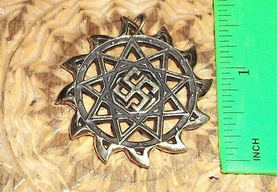 Ancient Scythian-Slavs Bronze Symbol of the Protector  / Replica-Amulet