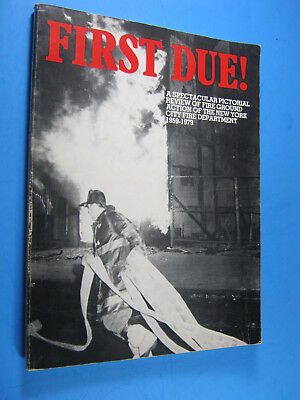 First Due FDNY FIREFIGHTING Donchin FDNY  BOOK  New York City Fire Department