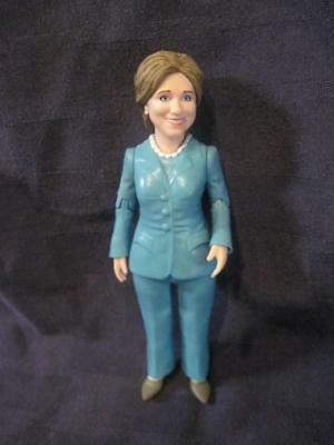 Hillary Clinton Ready for Action Figure Doll Super Hero 5 3/4 ""
