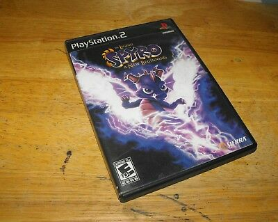 The Legend of Spyro: A New Beginning (Sony PlayStation 2, 2006) PS2 Black Label