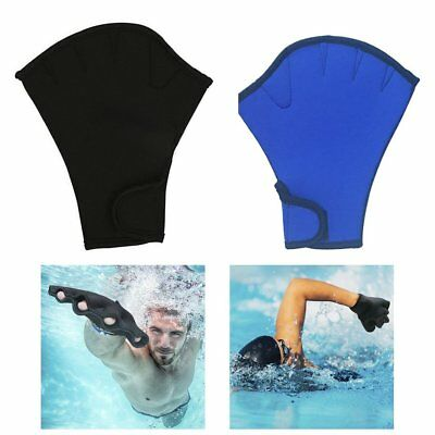 2mm Swimming Gloves Training Duck Palm Gloves Adult Unisex Snorkeling Diving C1