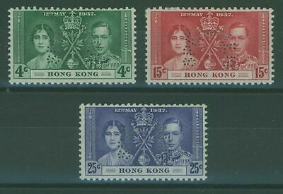 SG 137/39 Coronation perforated SPECIMEN MLH