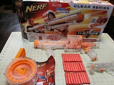 Nerf Clear Raider N-Strike CS-35 Target Exclusive