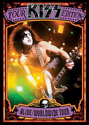 KISS TOUR EDITION Trading card Set of 33 Presspass 2009